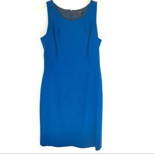 J Crew blue wool dress size 8